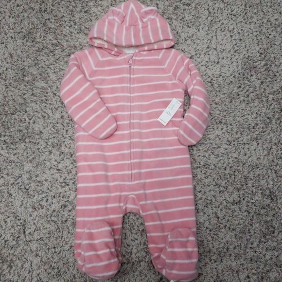NWT Old Navy pink fleece bundler 0c91b199e772